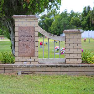 History of Ruskin Cemetery